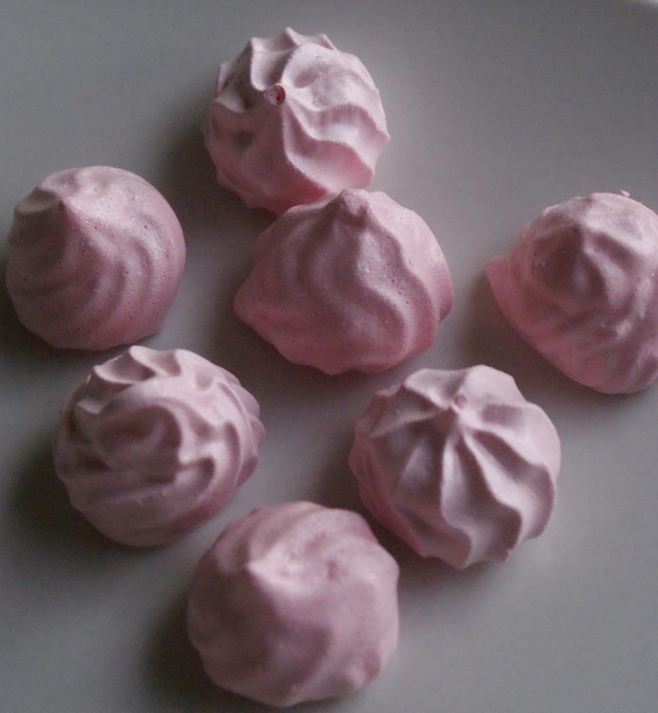 meringue à la fraise tagada